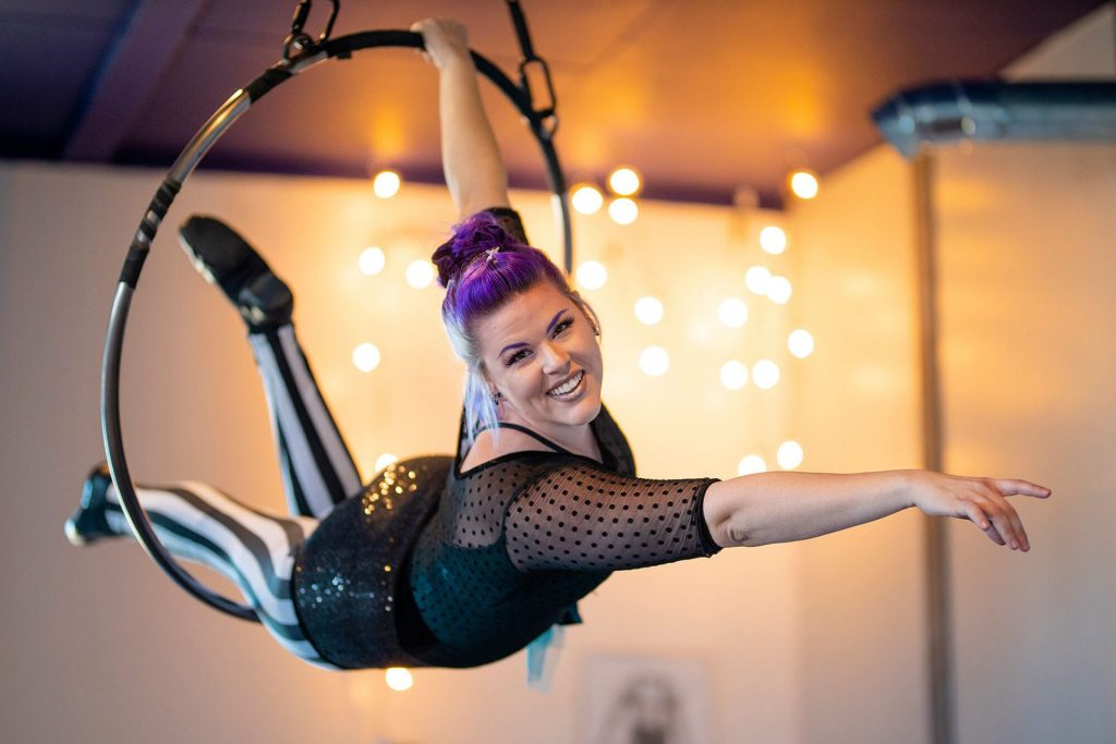 Aerial Fitness with Krystal Younglove in York pennsylvania